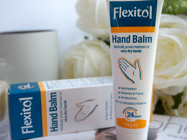 tube of flexitol hand balm