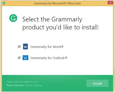 install grammarly for word