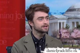 Daniel Radcliffe on Morning Joe
