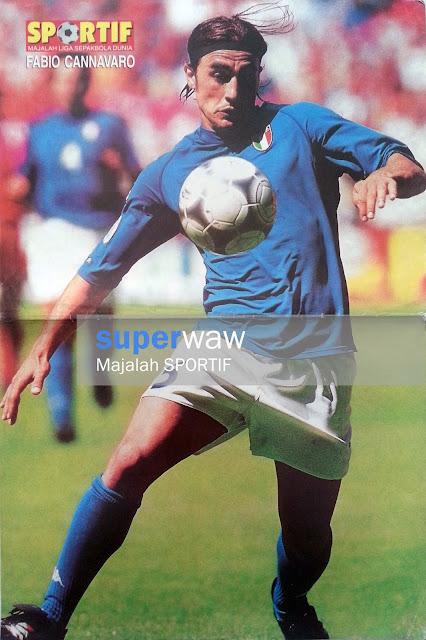 Fabio Cannavaro Italy 2000