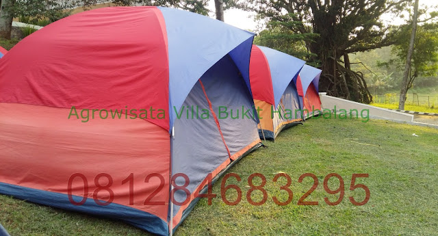 Harga Camping Hemat kawasan Wana Wisata Bukit Hambalang Hills