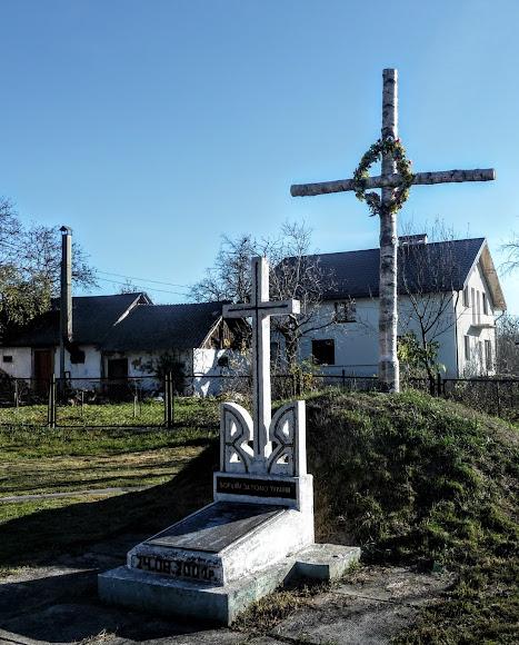 Поездки по Украине, Станков. Символическая могила Сечевых Стрельцов