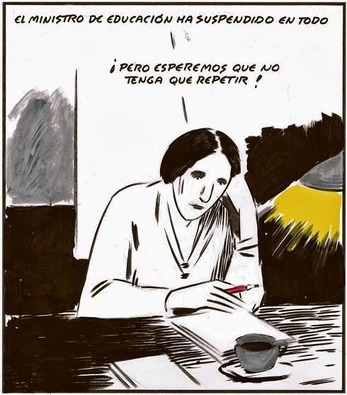 Viñetas sobre educación, FETE-UGT Ceuta