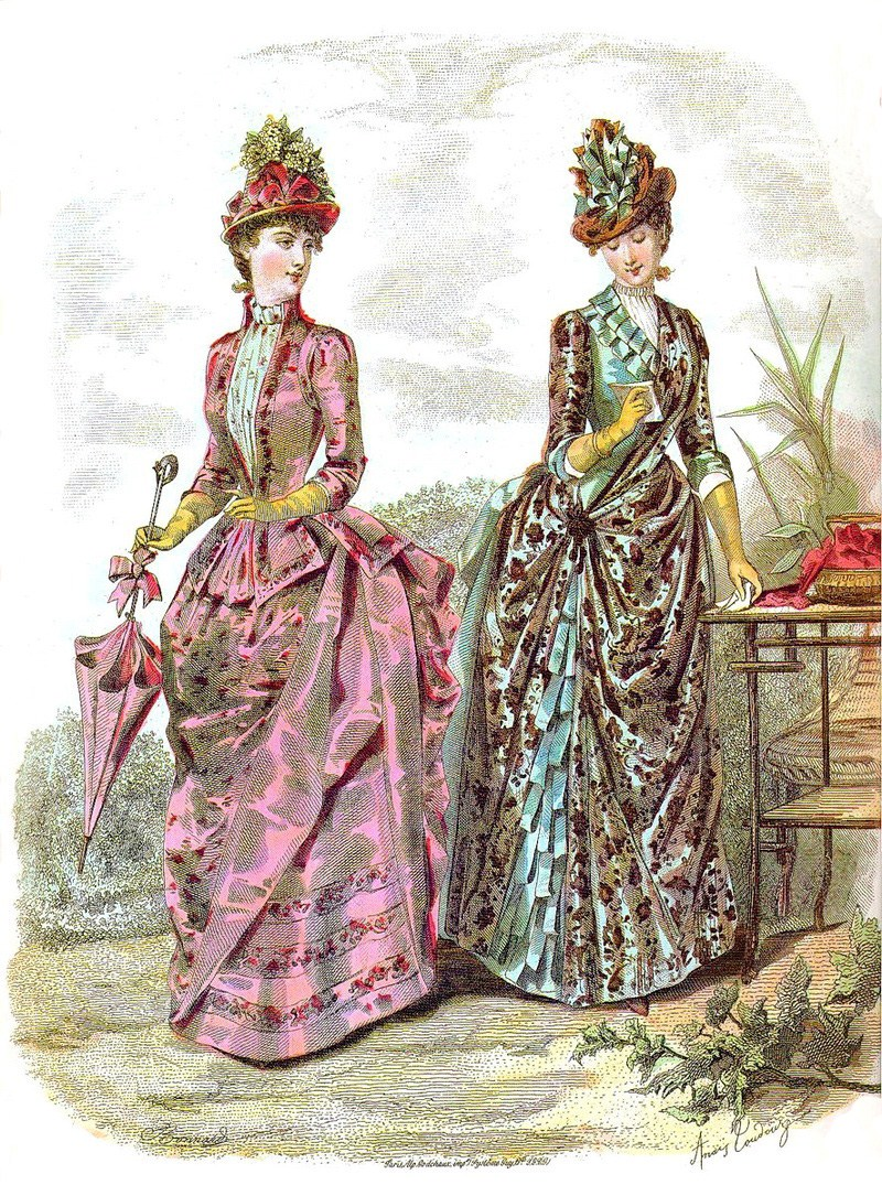 DevilInspired Victorian Clothing: History of Victorian and