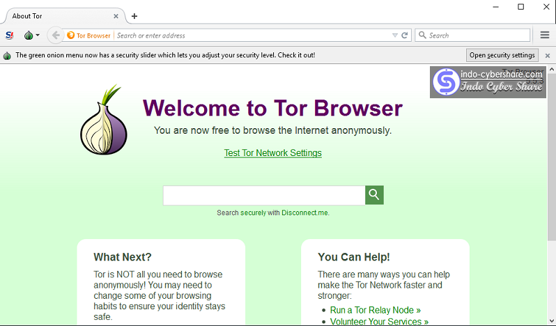 Tor Browser Terbaru Offline Installer