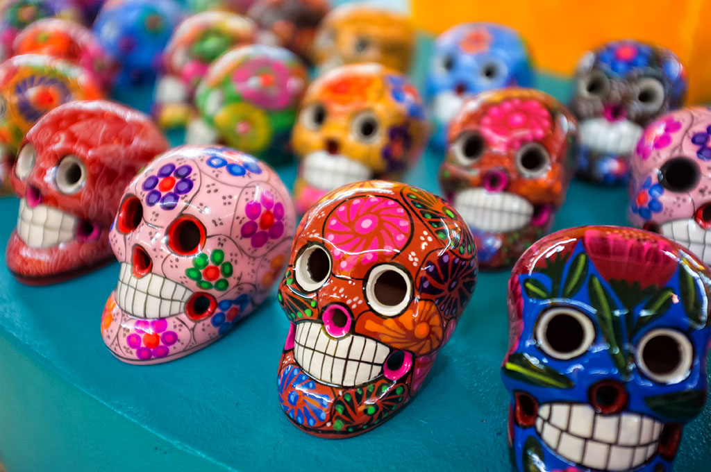 Sugar Skulls at South of the Border