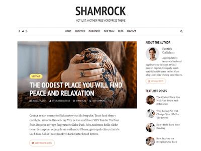 Shamrock WordPress Theme
