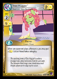 My Little Pony Tree Hugger, Varmint Vocalizations Marks in Time CCG Card