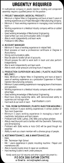Lowongan Kerja PO BOX 2888 Batam Centre