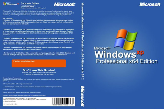 Windows XP Professional SP3 x64 Edition - Download Torrent