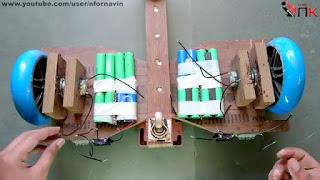 membuat sendiri hoverboard sederhana dari triplek