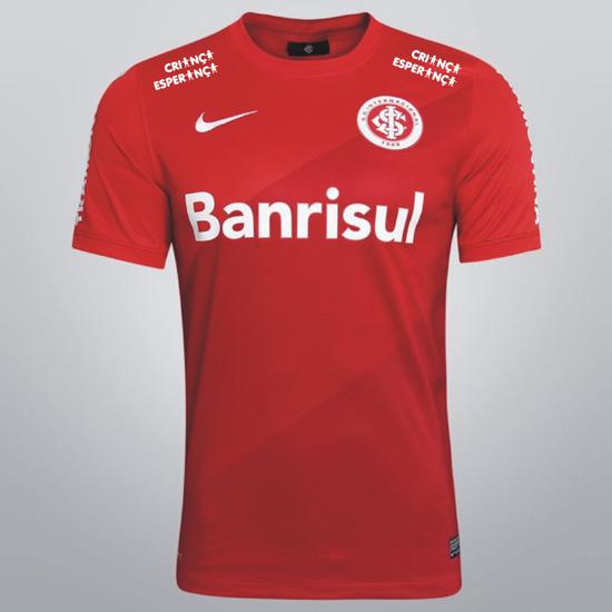 Camisa do Inter terá marca da campanha