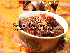 kota metropolitan ibukota Negara Indonesia tercinta Resep Masakan Semur Daging Sapi
