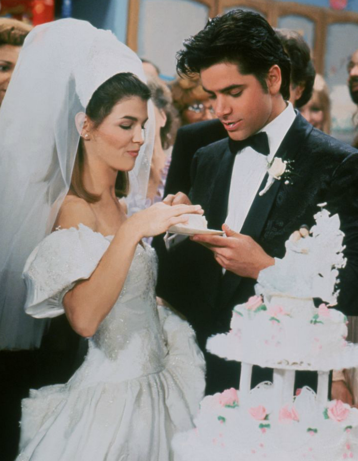 Throwback: Uncle Jesse and Aunt Becky's Wedding