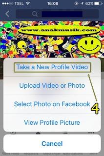 Cara Membuat Video Foto Profil Facebook