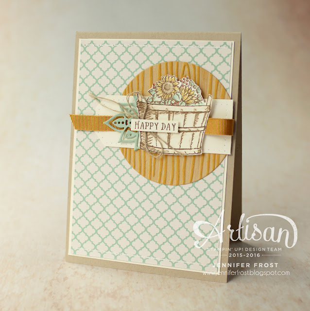 Basket of Wishes, Sunflowers, Petals & Paisleys Specialty Designer Series Paper, Papercraft by Jennifer Frost