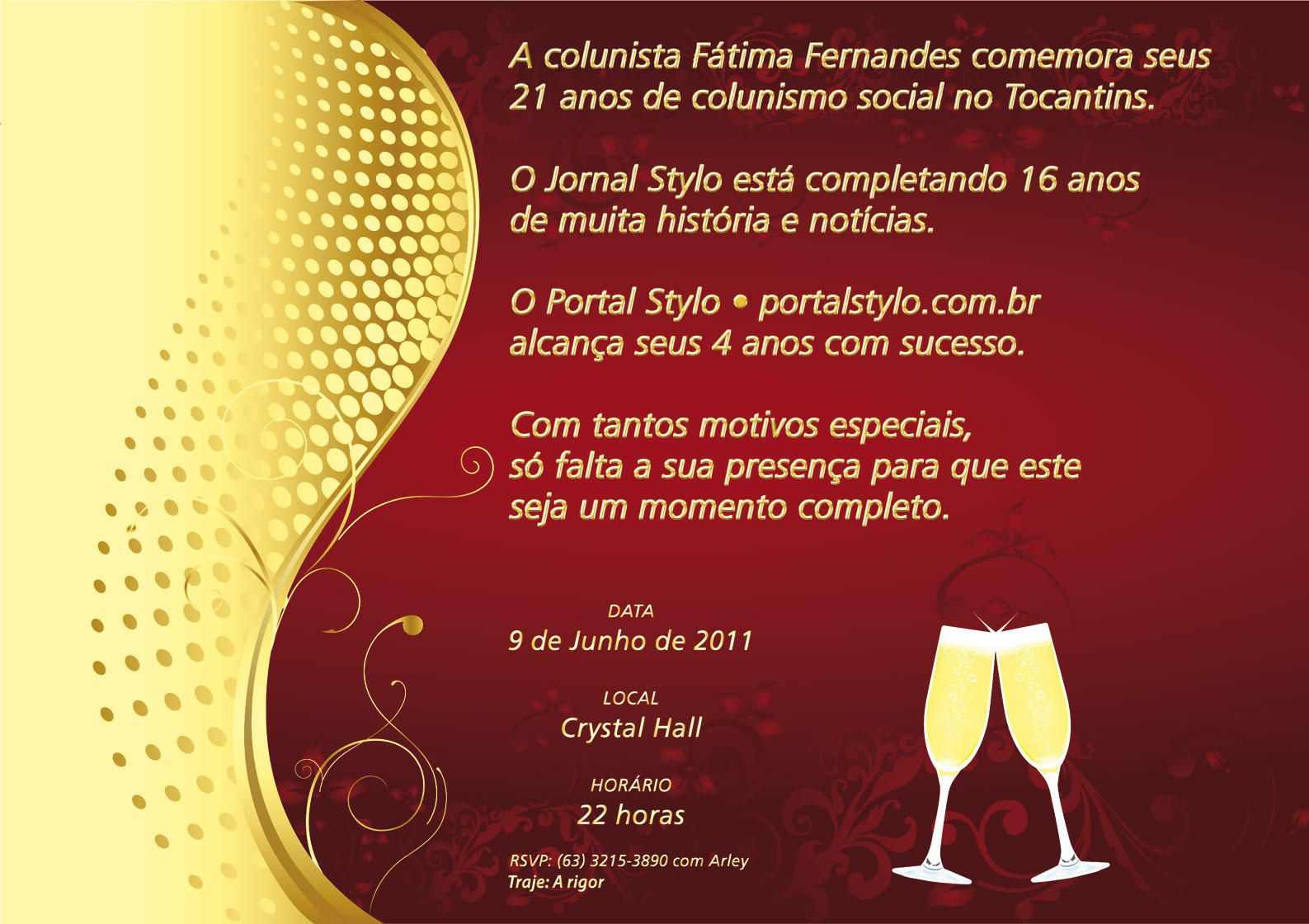 Quero Montar Meu Convite De 50 Anos: Blog Da Colunista Tania Gusman: 2011-05-15