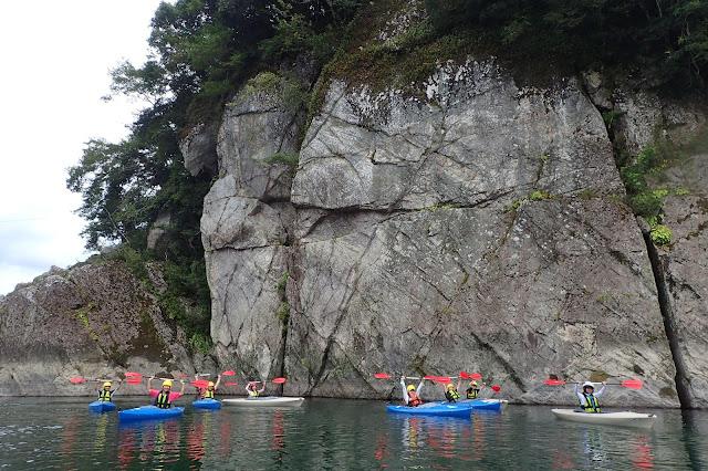 四国観光・カヌー