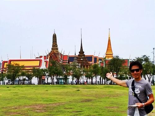 タイの寺院巡りもあっさり終了 Wat Phrakeaw