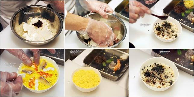 The Making Of Chirashizushi (Scattered Topping Sushi)
