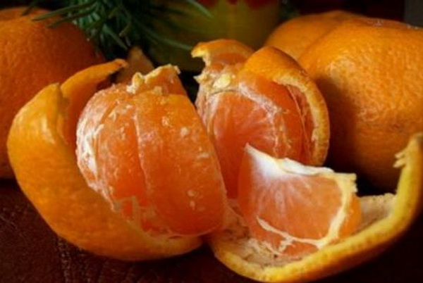 trateaza raceala cu clementine