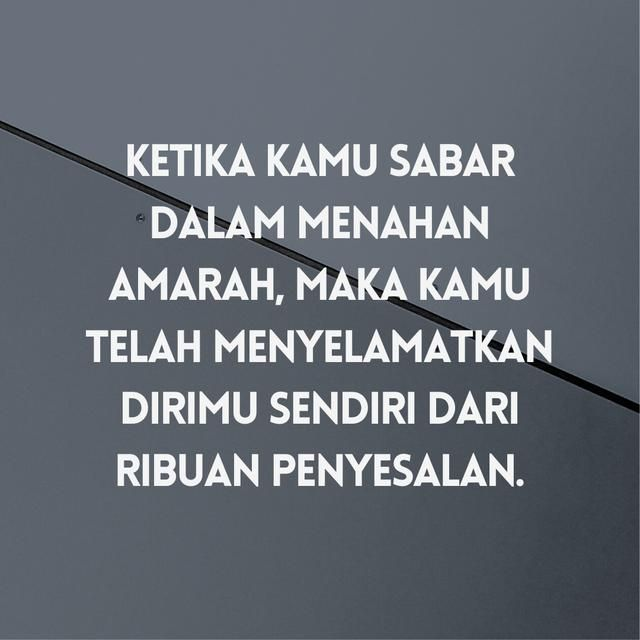 gambar kata kata mutiara islami tentang sabar