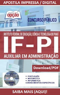 Concurso Instituto Federal do Piauí  -IFPI