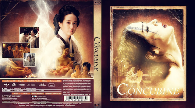 The Concubine (Hoo-goong: Je-wang-eui) Bluray Cover