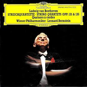 Sentidos Beethoven Cuartetos De Cuerda Op 131 Y Op 135 Versiones Orquestales Bernstein Orquesta Filarmónica De Viena 1977 1989