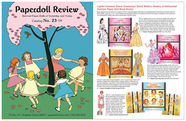 Paper Doll Catalog with classic stars cute kids and more