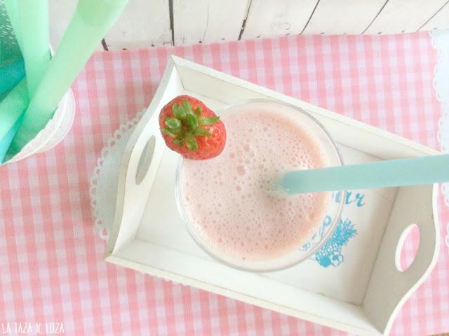 smoothie-de fresa