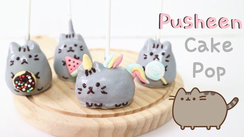 Pusheen Cake Pop 胖吉貓蛋糕棒