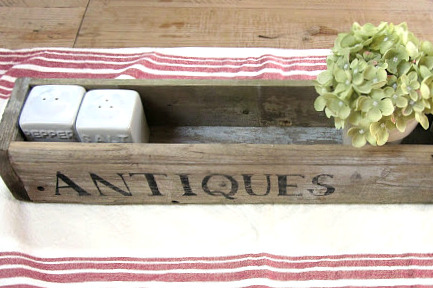 How to Make an Antique Flower Box