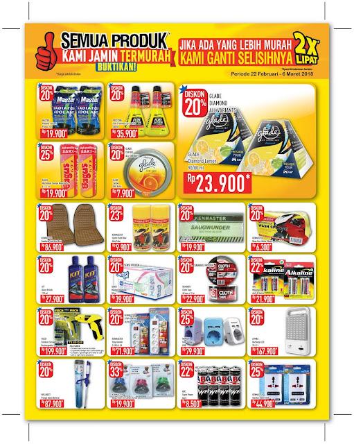 Katalog Promo HYPERMART Terbaru Periode 22 Februari - 06 Maret 2018