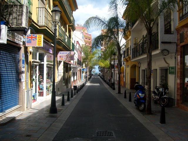 Fuengirola uliczki