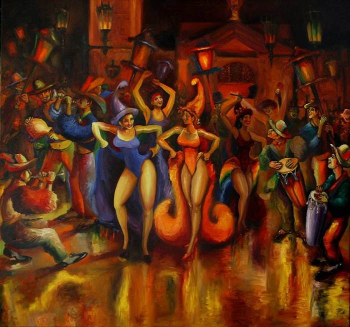 Современный американский художник. Esteban Alvarez-Buylla