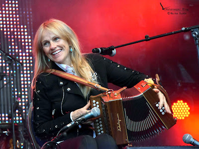 Sharon Shannon Folk Musikerin in Poyenberg