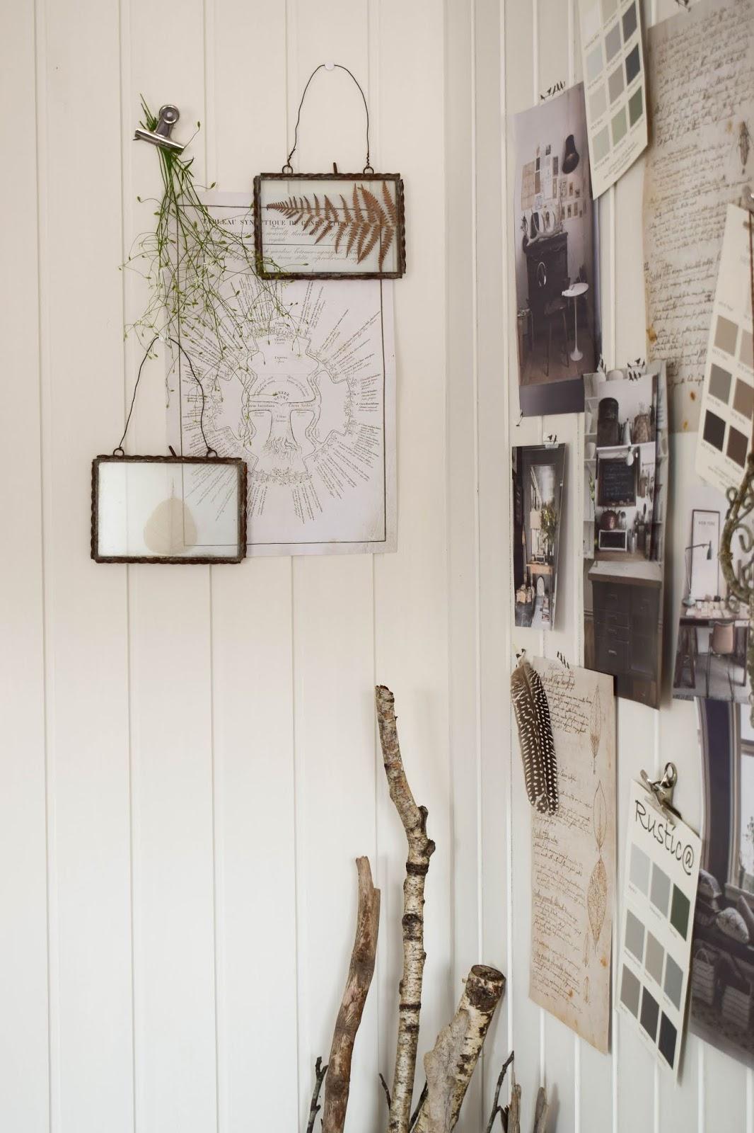 Dekoidee Wandverkleidung DIY Aus Holz Moodboard Inspirationswand  Kreidefarbe Von Painting The Past Vertaefelung Beadboard Selber Machen