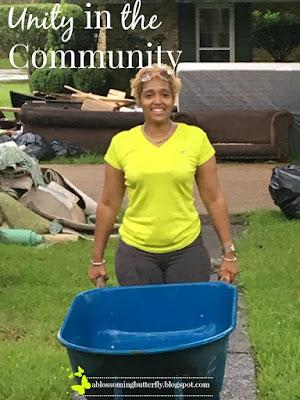 unity, community, flood, devastation
