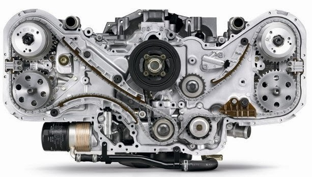 Common types of car engine layouts and working diagram ~ DRIVERS CLUB