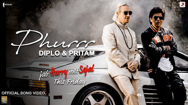 Phurr Phurrr Video Song By Diplo Pritam Sharukhkhan Anushka
