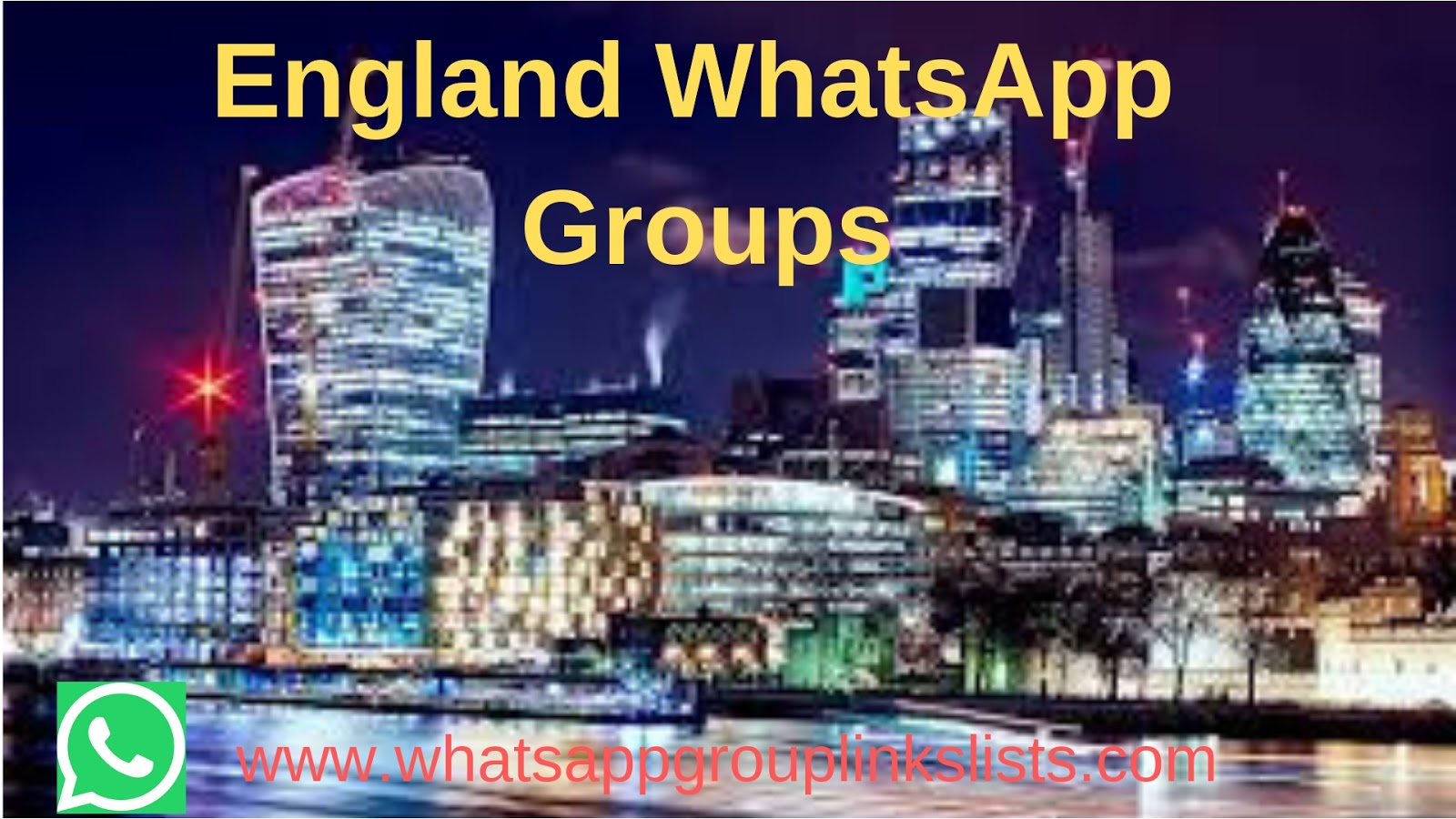 Join England WhatsApp Group Links list