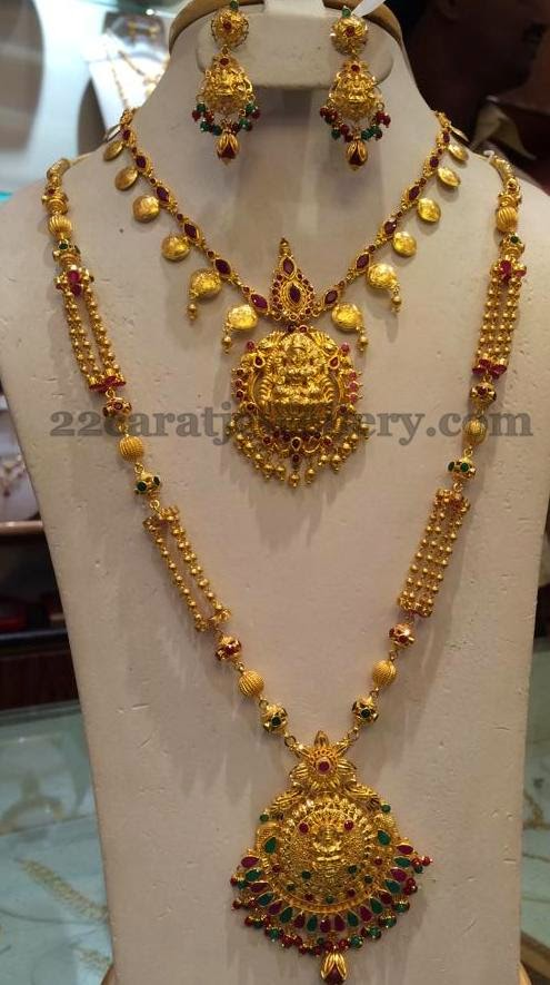 Simple Necklace and Long Set Jewellery Designs