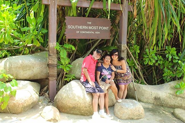 El punto más al sur de Asia continental