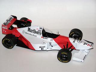 McLaren MP4/10B - Mark Blundell & Mika Hakkinen - GP Canada (1995) GPTeam