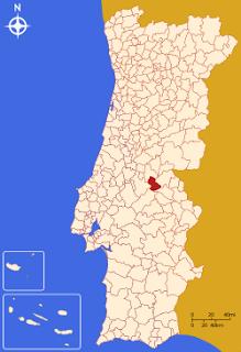 Gavião - Mapa