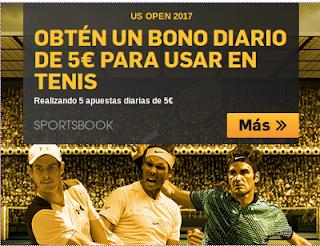 betfair consigue bono diario 5 euros para US Open 2017