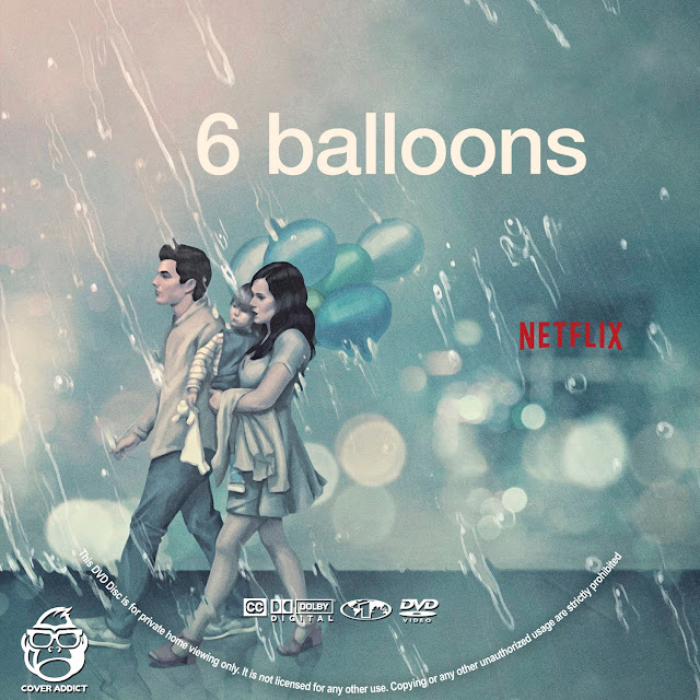 6 Balloons DVD Label