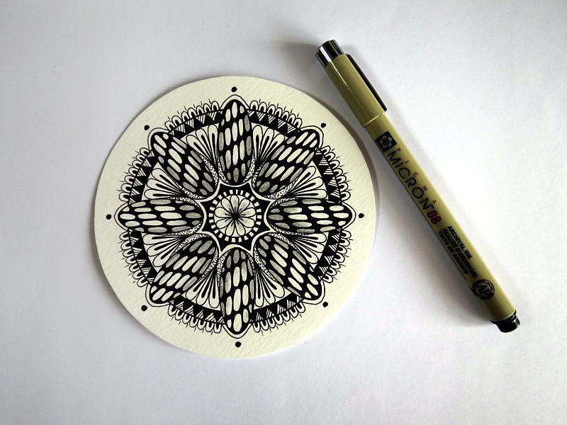 rysowanie mandali