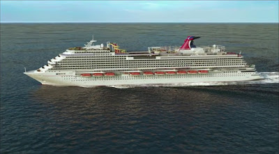 Carnival Cruises New Carnival Vista Arrives in New York for Cruises and Christening